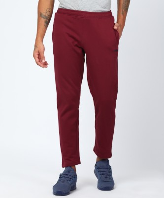 Fila Solid Men Red Track Pants at flipkart