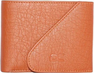 Dezire Crafts Boys Casual Tan Artificial Leather Wallet(7 Card Slots)