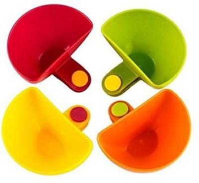 SYGA Plastic Sauce Bowl Multicolor, Pack of 4 SYGA Bowls