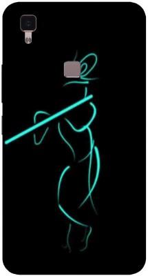 RDcon Back Cover for Vivo V3 Max(Multicolor, Anti-radiation, Silicon)
