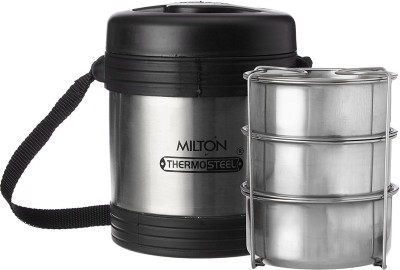 Dealsnbuy Milton Legend 3 Container Tiffin 3 Containers Lunch Box(1000 ml)