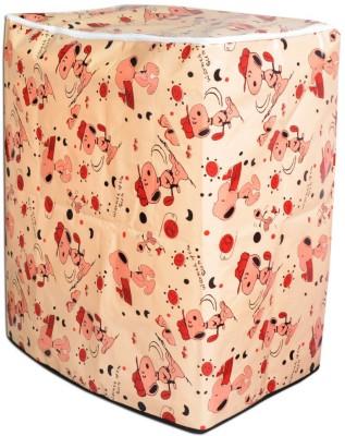 GlossyKart Top Loading Washing Machine Cover Beige