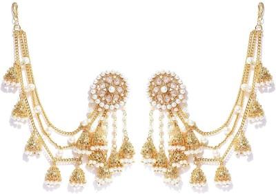You Bella Stylish Party Wear Jewellery Alloy Jhumki Earring