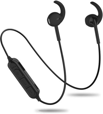 PTron Avento Pro v4.2 Sports Earbuds With TF Card Reader Bluetooth Headset with Mic(Black, In the Ear)