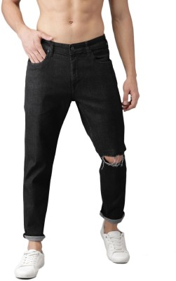 HERE&NOW Tapered Fit Men Black Jeans at flipkart