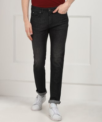 GAS Slim Men Black Jeans at flipkart