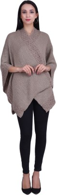 Icable Woolen Poncho