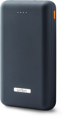 URBN 20000 mAh Power Bank (UPR20K BL, Power)(Blue, Lithium Polymer) at flipkart