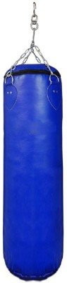 FACTO POWER 5 Feet Length BLUE Color Unfilled Synthetic Leather Hanging Bag(Heavy, 2 kg) at flipkart