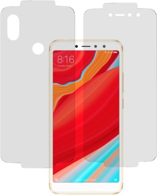Marshland Front and Back Screen Guard for Mi Redmi Y2(Pack of 1)