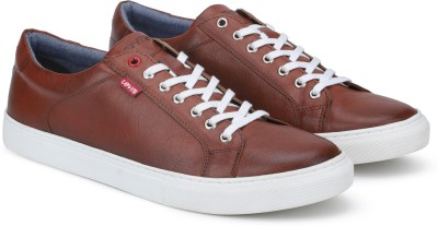 Levi's PRELUDE Sneakers For Men(Brown)
