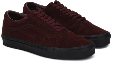 325fd9875072 50% OFF on Vans OLD SKOOL Sneakers For Men(Maroon) on Flipkart ...