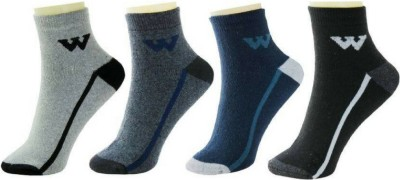 AR Sales Men's Ankle Length(Pack of 4)