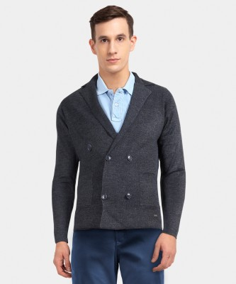 Park Avenue Men Button Cardigan at flipkart
