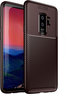 Golden Sand Back Cover for Samsung Galaxy S9 Plus(Brown, Shock Proof)