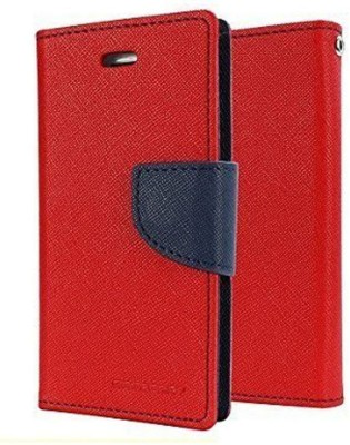 Aryamobi Flip Cover for OPPO F9 Pro Red, Cases with Holder, Cloth, Artificial Leather