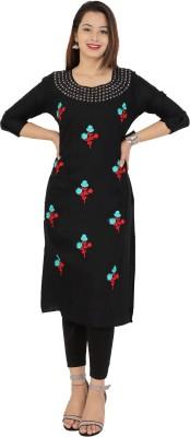 New Ethnic 4 You Festive & Party Floral Print Women Kurti(Multicolor)