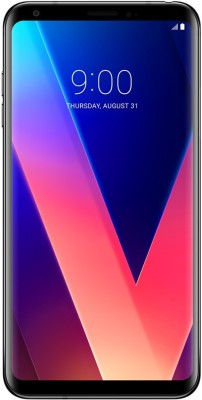 LG V30+ (Black, 128 GB)(4 GB RAM)