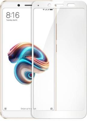 capnicks Edge To Edge Tempered Glass for Redmi MI Note 7 Pro Full Glue 6D Glass (Black)(Pack of 1)