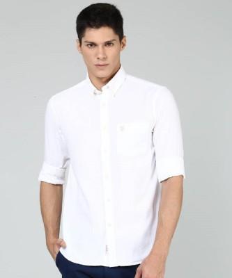 Marc Loire Women Solid Casual White Shirt