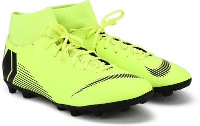 Nike SUPERFLY 6 CLUB FG/MG Football Shoes For Men(Green)