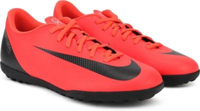Nike VAPOR 12 CLUB CR7 TF Football Shoes For Men(Red) 1
