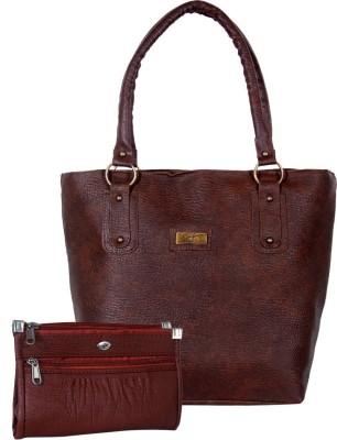 VISHESH COLLECTIONS Maroon Shoulder Bag