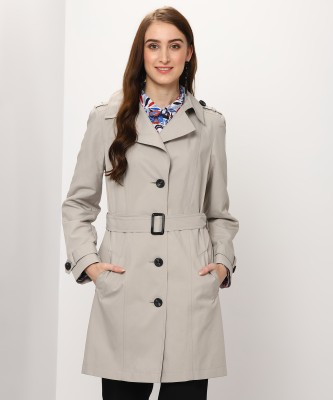 FABUNIFORMS Polyester Blend Cotton Solid Coat