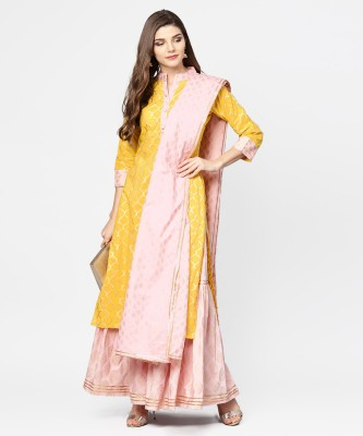 Nayo Women Kurta and Salwar Set at flipkart
