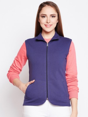 Wisstler Sleeveless Solid Women Jacket