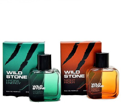 Wild Stone Hydra Energy & Night Rider Eau de Parfum  -  200 ml(For Men)