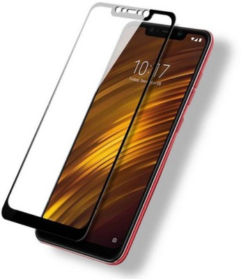 BuyMe Edge To Edge Tempered Glass for POCO F1(Pack of 1)