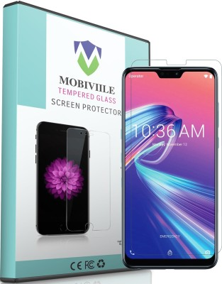MOBIVIILE Tempered Glass Guard for Asus Zenfone Max Pro M1(Pack of 1)