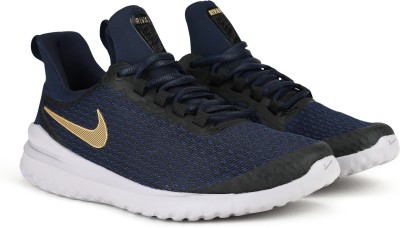 Nike W RENEW RIVAL Running Shoes For Women(Black) at flipkart