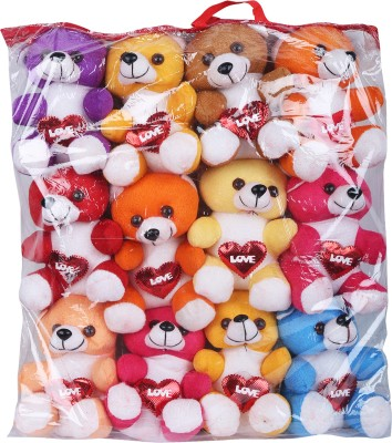 WRODSS Stuffed Toy 12 Kit - 12 cm(Multicolor)