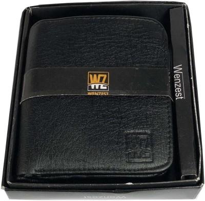 Boys Black Artificial Leather Wallet