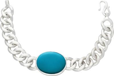 Being Human Jewellery Steel Silver Coated Bracelet