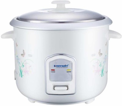 Kenwin KW18CE Electric Rice Cooker(1.8, White) at flipkart