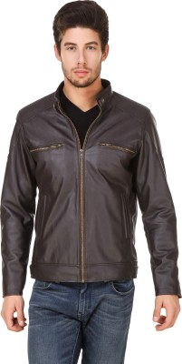 Leinwand Full Sleeve Solid Men Jacket at flipkart