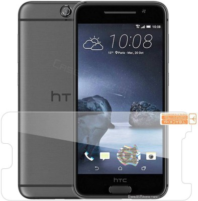 Case Creation Edge To Edge Tempered Glass for HTC One (A9)(Pack of 1)