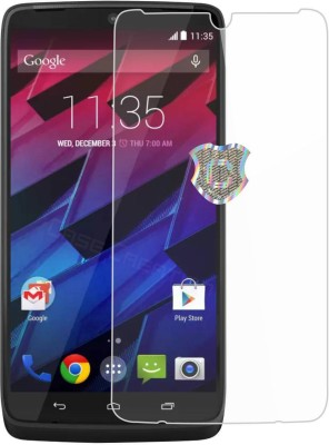 Case Creation Edge To Edge Tempered Glass for Motorola DROID Turbo XT1254(Pack of 1)