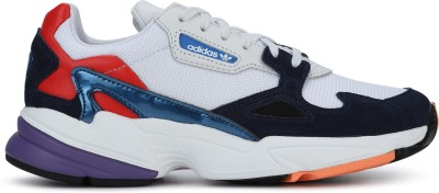 ADIDAS ORIGINALS FALCON W Running Shoes For Women(Navy, White) at flipkart