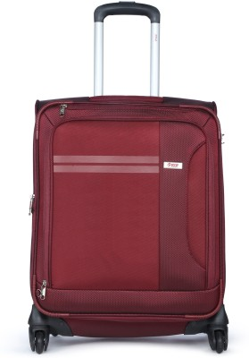 VIP PLAZMA 4W EXP STROLLY 55 MAROON Expandable  Check-in Luggage - 23 inch(Maroon)