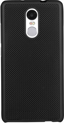 ShutterBugs Back Cover for Redmi note 4 black dotted cover(Black dotted, Dot View)