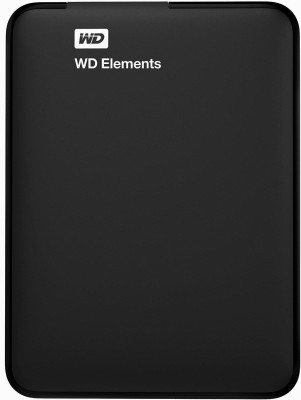 WD 1.5 TB Wired External Hard Disk Drive(Black)