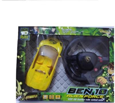 Ben 10 Alien Force Remote Control Car(Multicolor)