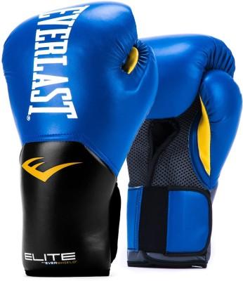 Everlast Pro Style Elite V2 Training - 12OZ Boxing Gloves(Blue)