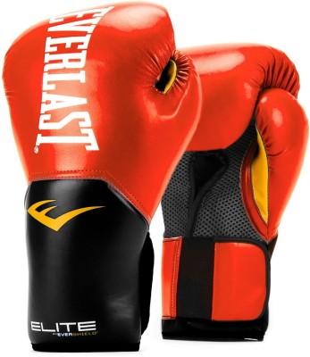 Everlast Pro Style Elite V2 Training   12OZ Boxing Gloves Red