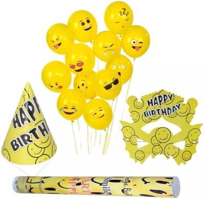 Smartcraft Smiley Birthday Kit - Pack of 46