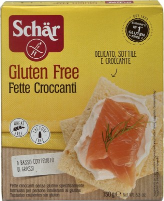 Dr Schar Fette Croccanti Gluten Free Rusk NA flavored Cake Rusk(150 g)
